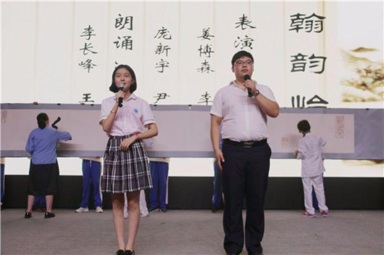 潍坊(上海)新纪元学校初中部差异化课程成果展示暨初中家长汇报会召开图片